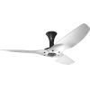 This item: Haiku Black 52-Inch Low Profile Outdoor Ceiling Fan with Brushed Aluminum Blades