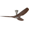 This item: Haiku Satin Nickel 52-Inch Low Profile Outdoor Ceiling Fan with Cocoa Bamboo Blades