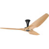 This item: Haiku Black 60-Inch Low Profile Outdoor Ceiling Fan with Caramel Bamboo Blades