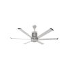 This item: i6 Brushed Silver 60-Inch Outdoor Smart Ceiling Fan