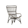 This item: Monet Taupe Gray High Rack Lounge Chair