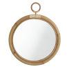 This item: Ella Natural 20-Inch Rattan Wall Mirror