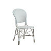 This item: Isabell Taupe, Gray and White Outdoor Dining Chair