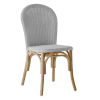 This item: Ofelia Light Gray Armless Chair