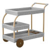 This item: James Light Gray Trolley