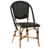 This item: Sofie Natural and Black Bistro Dining Side Chair