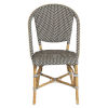 This item: Sofie Gray and Cappuccino Bistro Dining Side Chair