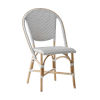 This item: Sofie Gray and White Bistro Dining Side Chair