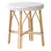 This item: Simone White and Cappuccino Stool
