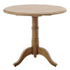 This item: Michel Natural Brown 31-Inch Teak Round Dining Table