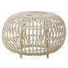 This item: Franco Albini Dove White 26-Inch Outdoor Ottoman