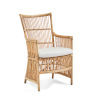 This item: Davinci Natural and White Chair with Tempotest Canvas Cushion