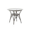 This item: Taupe Coffee Table with Glass Top