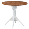 This item: Nicole Café White Outdoor Table Base with Round Top