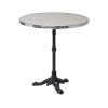 This item: Rive Gauche Black and Chrome Outdoor Bistro Table