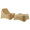This item: Nanna Ditzel Natural Chair with Stool