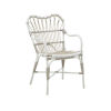 This item: Margret Dove White Outdoor Dining Chair