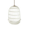 This item: American White Hanging Rattan Chair
