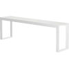 This item: Hanover White Crocco Reclaimed Leather 102-Inch Console Table