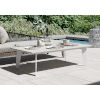 This item: Amsterdam White Sand Concrete Outdoor Coffee Table