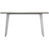 This item: Amsterdam White Sand Concrete Outdoor Console Table