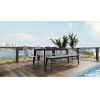 This item: Amsterdam Gray Concrete Outdoor Bench