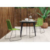 This item: Amsterdam Gray Concrete Outdoor Bistro Table