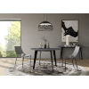 This item: Amsterdam Gray Concrete 47-Inch Dining Table