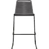 This item: Barclay Light Gray Cord 42-Inch Outdoor Barstool