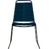 This item: Barclay Blue Cord Outdoor Dining Chair