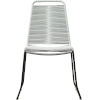 This item: Barclay White Cord Outdoor Dining Chair
