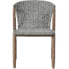This item: Embras Gray Cord Outdoor Dining Chair, Set of Two