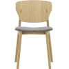 This item: Emi Natural Oak and Andorra Wool Dining Chair