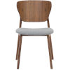 This item: Emi Walnut and Andorra Wool Dining Chair