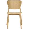 This item: Emi Natural Oak Dining Chair