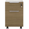 This item: Broome Latte Walnut 18-Inch Lateral File Cabinet