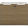 This item: Broome Latte Walnut 29-Inch Two Door Lateral File Cabinet
