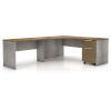This item: Broome Latte Walnut 95-Inch Left Corner Desk