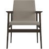 This item: Stanton Castle Gray Eco Leather Dining Arm Chair