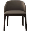 This item: Wooster Castle Gray Eco Leather Dining Chair
