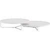 This item: Adelphi White Crocco Reclaimed Leather Coffee Table