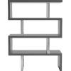 This item: Pearl Glossy Dark Gull Gray Bookcase