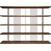 This item: Beekman Walnut Bookcase