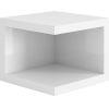 This item: Ludlow Glossy White Nightstand
