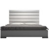 This item: Prince White Eco Leather Queen Bed