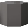 This item: Centre Glossy Dark Gull Gray 14-Inch Coffee Table