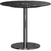 This item: Bleecker Black Marble Side Table
