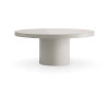 This item: Berkeley Glossy Chateau Gray Dining Table