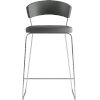 This item: Delancey Deep Space Eco Leather 41-Inch Barstool