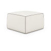 This item: Pitt Soft Snow Leather Pouf